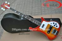 guitarras sunburst à venda venda por atacado-4003 baixo ric Modelo 4 cordas baixo Sunburst guitarra baixo elétrico VENDA QUENTE