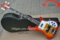 Hot selling 4003 ric bass Model 4 strings bass Sunburst electric bass guitar HOT SALE