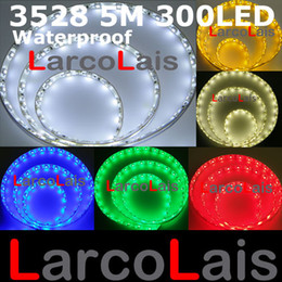 Argentina Impermeable 5 M 16FT 300 LED 3528 1210 SMD Flexible Tira Luces 300LED 5m Car Home Garden Blanco Suministro