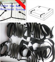 Wholesale Strap Sex Toys Men - nylon bdsm bondage restraints honeymoon pleasure handcuffs leg cuffs wrist ankle straps adult sex toys for men women couples xly1070