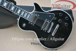 $enCountryForm.capitalKeyWord Canada - custom shop 1968 black ebony fingerboard electric guitar chrome hardware China Guitar