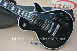 china fingerboard shop Coupons - custom shop 1968 black ebony fingerboard electric guitar chrome hardware China Guitar