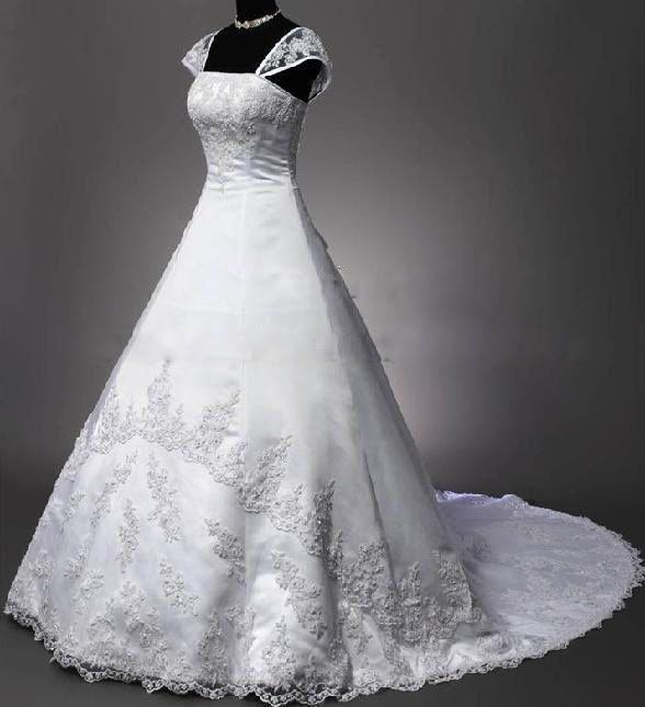Cheap Wedding Dresses Wilmington Nc: Discount High Quality Gorgeous Wedding Gown A Line Off The