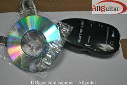 Câble de liaison guitare USB pour recodage PC / Mac, câble de liaison guitare, câble guitare USB