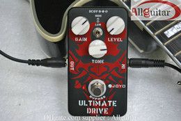 Wholesale Joyo Pedals Free Shipping - Effects Guitar Effect Pedal - Ultimate Drive-JOYO JF-02 +Guitar Cabl free shipping
