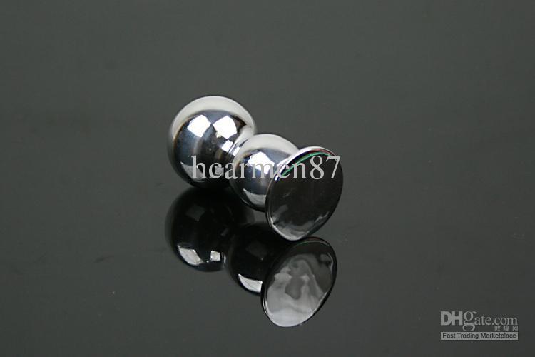 Großhandel Aluminium Anal Plug Dual Anal Spielzeug Erwachsene Neuheit Sex Keuschheit SM Produkte L