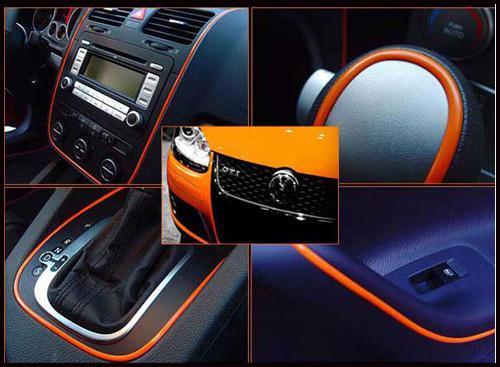 5 Metros Decoração Do Carro Adesivo Tira Moldagem Guarnição Fio interior pater Interior Do Carro Exterior Do Corpo Modificar Decalque Gota Styling Adesivo