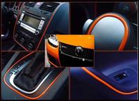hyundai için araba kaplamaları toptan satış-5 Metre Araba Dekorasyon Sticker Şerit Kalıp Trim Konu kapalı pater Araba Iç Dış Vücut Değiştirmek Çıkartması Bırak Styling Sticker