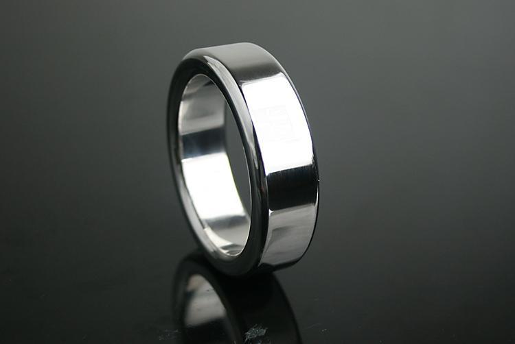 Großhandel Edelstahl Cock Ring Metall Zeitverzögerung Ring CB Keuschheitsgürtel Erwachsene Geschlechtsspielwaren