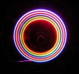 2019 caixa de válvula do carro 75 caixa = 150 pcs * colorido da bicicleta do carro Hot Wheels 5 LED luz do flash da válvula da roda da válvula da haste do tampão da lâmpada caixa de válvula do carro barato