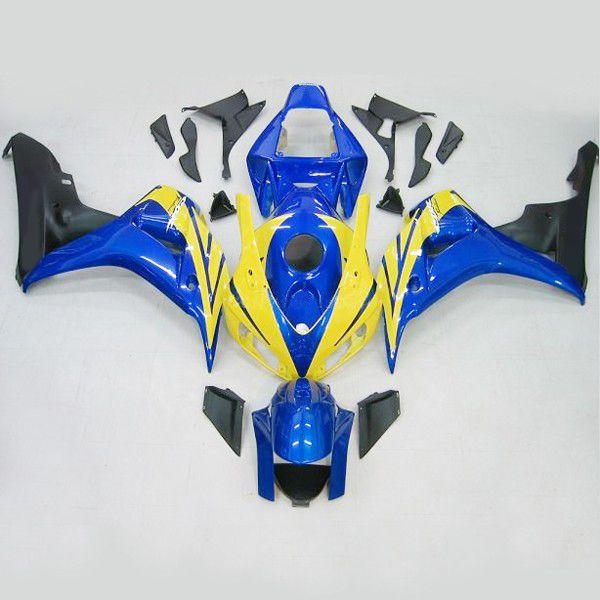 Пригодный для honda CBR1000RR 2006-2007 CBR 1000 RR 06 07 BlueFireblade обтекатель комплект,мотоцикл кузов