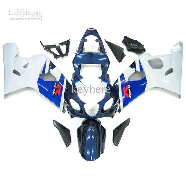 Custom Body Kits voor Suzuki GSXR 600 750 FUNING KIT GSX-R600 R750 2004-2005 04-05 Body Work