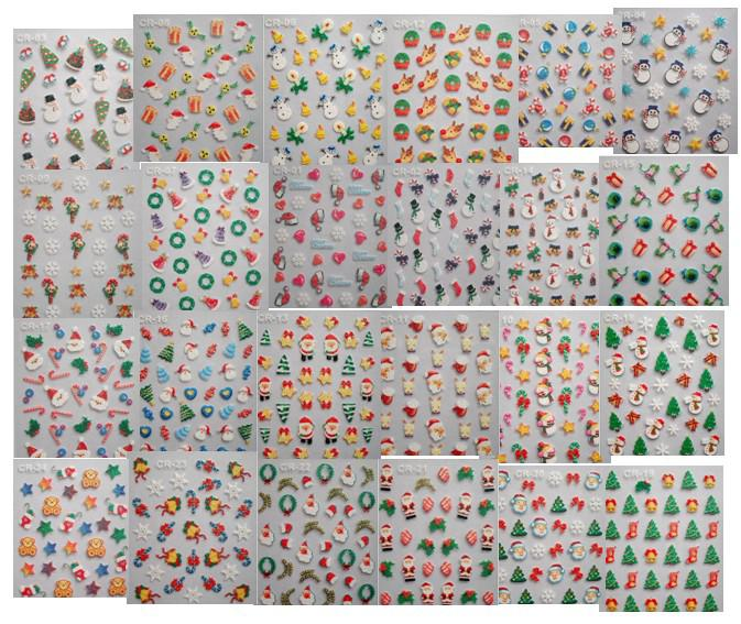 2012 christmas 3d nail stickers 3d nail seal designs nail sticker 2012 christmas 3d nail stickers 3d nail seal designs nail sticker nail art nail decal mix style nail stencil stickers nails stickers from aiai huang prinsesfo Gallery