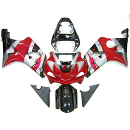 fairing decals Australia - 1 set Fairings for Suzuki GSX R1000 00 01 02 GSXR1000 2000 2001 2002 RED silver KIT,add decals free