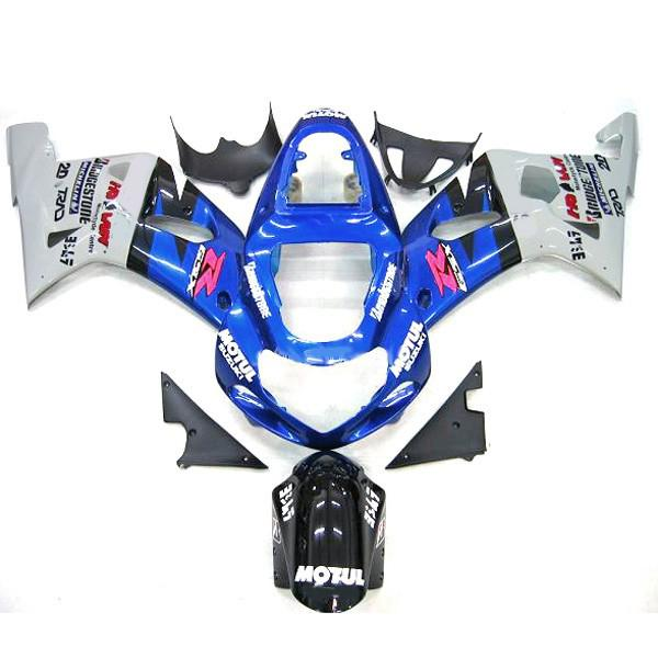 Fit for Motocycle Suzuki GSXR 600 750 Fairing kit GSX-R600 R750 2000-2003 00 01 02 03 Motul bodywork