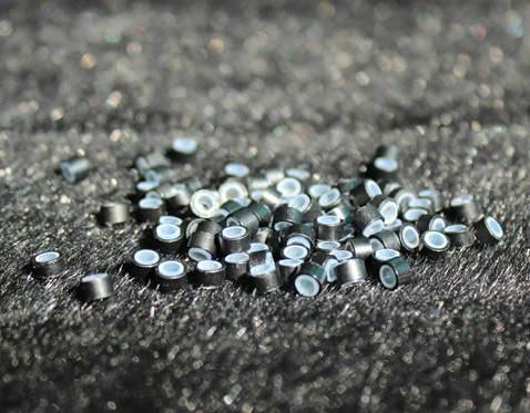 1000 pçs / lote 5.0mm micro anel de silicone links para extensões de cabelo ferramentas 5 cores opcional