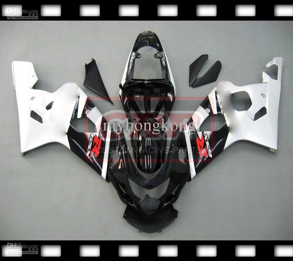 Бесплатные Шипп Сузуки GSXR600 750 04 05 GSXR600 750 04 05 системы GSX-R600 о 750 04-05 ABS обтекатель, пригодный полный No23