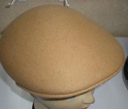 tapa de conducción a cuadros Rebajas Gorro de boina de visera de lana sombrero 10pcs / lot # 2289
