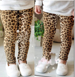 Wholesale Leopard Leggings Winter - Spring girl leopard pants Children Legging Girls Leopard Legging baby pants girl leopard tights free