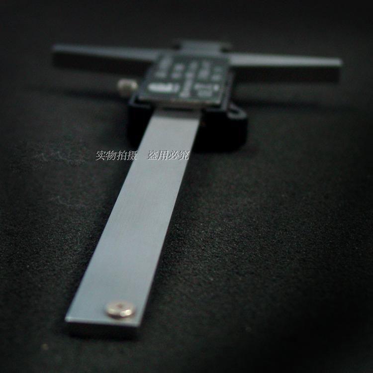 200 mm LCD Digital Micrometer Caliper Double Hooks Depth Caliper Stainless Steel