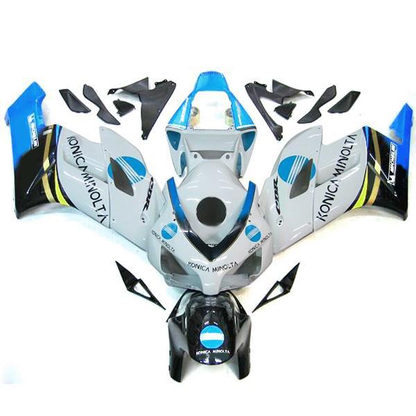 Custom body kits for HONDA CBR1000RR 2004-2005 CBR 1000 RR 04 05 Konica Minolta Fairing kit bodywork