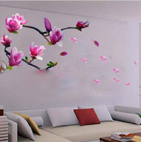 Nice Removable Wall Stickers,Bedroom,Living Room Tv Wall Art Stickers,Magnolia Flowers  Wall Sticker Decal Wall Art Sticker Wall Art Sticker Quotes From Kingkuang  ... Part 2