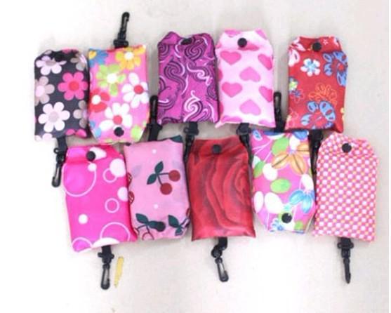 Portable Environmental Protection Folding Shopping Bag In ...