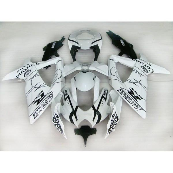 Custom Fairing Kit Bodykits voor Suzuki GSXR 600 750 08 09 GSX-R600 R750 2008 2009 Corona Fairing Kit