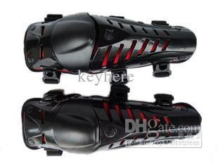 Knieschützer für Motorräder, Ellbogenschutz, BlackRED Protector-Zubehör