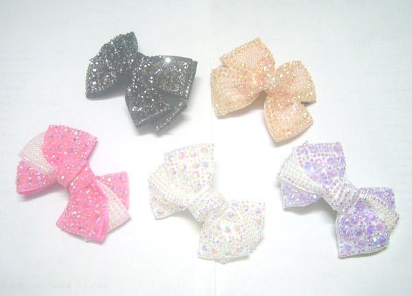 10 stks / partij Mix Kleuren Haar Clip Barrettes Accessoires Ornamenten voor Vrouwen Meisjes Sieraden Gift HJ06