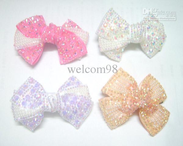 10 قطعة / الوحدة مزيج الألوان أزياء الشعر كليب المشمعات للنساء الفتيات مجوهرات هدية HJ06 *