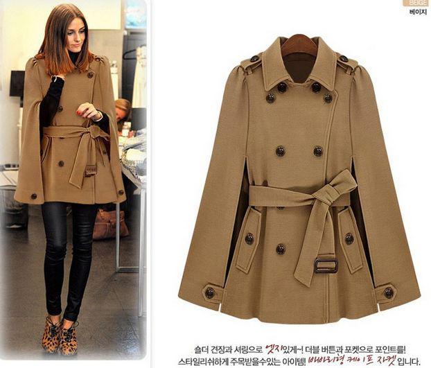2018 2014 Winter Coats Fashion Korean Style Wj09862 Double