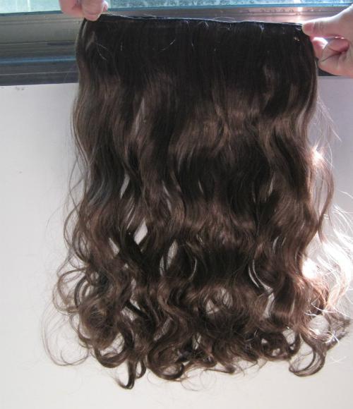 Damen Haar Clip-in Haarverlängerungen 12 Farben 1 Stück für volle Kopf synthetische Haarteile