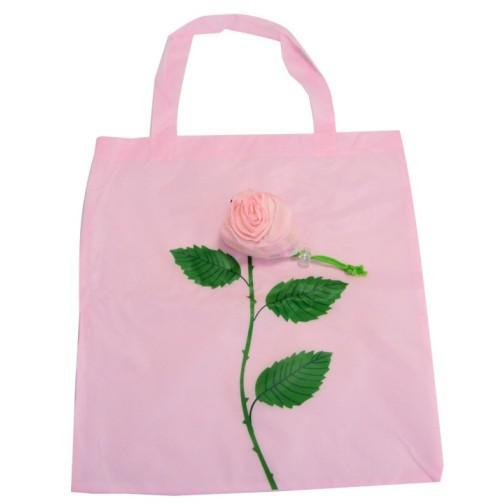 Nuevo Bolso de compras reutilizable de la flor Bolso de almacenamiento ecológico del totalizador del totalizador de nylon