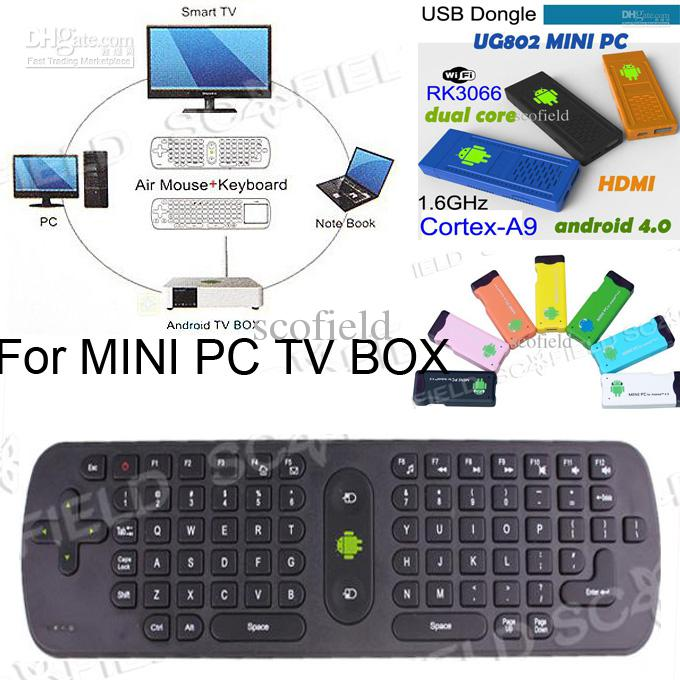 d3a93947a98 Gyroscope Mini Fly Air Mouse RC11 2.4GHz Wireless Keyboard For Google  Android Mini PC TV Palyer BOX Pc Remote Controller Pc Remote Controls From  Scofield, ...