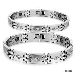 Toptan bayan mıknatıs bilezik enerji erkek manyetik bilezik elmas bilezik ücretsiz nakliye supplier wholesale magnet bracelets nereden toptan mıknatıs bilezikler tedarikçiler