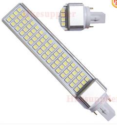 Wholesale E27 17w - 50PCS G24 G23 E27 64LED 5050 17W Flat light Lighting LED Light Lamp Tube 85-265V High Power