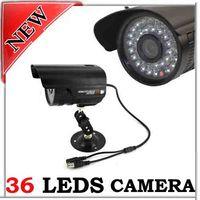 "Wholesale Sharp Vision Camera - 36 LED 1 4"" SHARP CCD NIGHT VISION CCTV CAMERA 420TVL"
