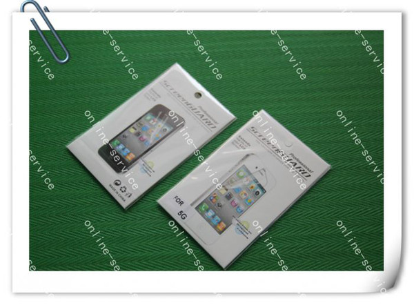 TOP quality Clear Screen Protector Film Guard for the new iPhone 5 5G 5c 5s WITH RETAIL PACKAGE