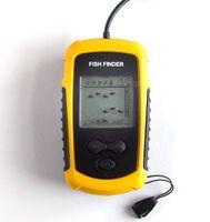 faisceaux de capteurs achat en gros de-X017! NOUVEAU transducteur de faisceau d'alarme de détecteur de poissons détecteur de poissons portable 100m