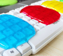 Wholesale Computer Gel Cleaner - Novelty High-Tech Cleaning Compound Super Clean Slimy Gel Cleaner PC Laptop Computer Keyboard 10pcs Very convenient for Details' Cleaning