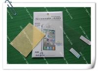 anti-parlama iphone paketleme toptan satış-SıCAK satış mat Anti parlama Ekran Koruyucu Film Guard için yeni iPhone 5 5G 5 s 5c ratail paketi ile