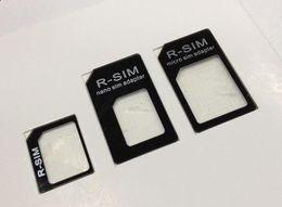 $enCountryForm.capitalKeyWord NZ - 3 in 1 Nano to SIM Adapter for iPhone 5 5G Restored Micro Standard Sim Adapters (3000pcs) 1000set