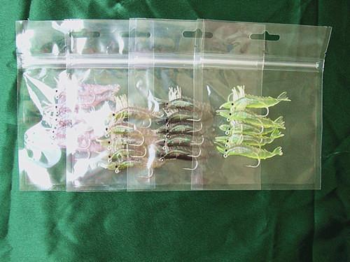 Креветки форма рыболовные приманки мягкие приманки с флуоресцентным Хлопь простые тела