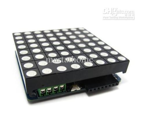 Arduino RGB LED 매트릭스 플랫폼 Colorduino V1.3 무료 배송 # BV103 @CF
