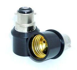 Wholesale B22 E27 Lamp Holder - 10PCS B22 to E27 lamp adapter b22 - e27 base bulb lamp holder converter