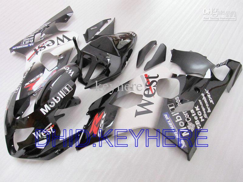 West Custom Backings voor Suzuki GSXR 600 750 2004 2005 GSX R600 GSXR600 GSXR750 04 05 K4 Fairing Kit