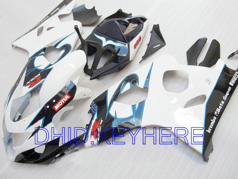 Kit de carrocería Alstare para SUZUKI GSXR 600 750 2004 2005 GSX R600 GSXR600 GSXR750 04 05 K4 carenados