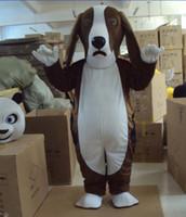 Wholesale Dog Costume Dachshund - Basset Dog Mascot dachshund Dog Costumes Mascot Costume Halloween Mascot Fancy Dress Adult Size