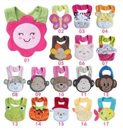 Wholesale White Infant Bibs - Baby Bibs Halloween Christmas Cartoon Toddler Kid Bib baby Feeding infant bibs disposable 23 Models